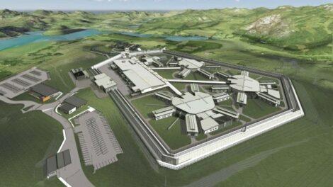 emergency lighting system prison project