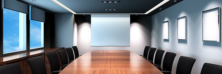 Boardrooms - Lighting + Audio Visual Control Auckland NZ