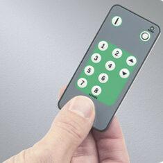 energy saving controls user handset