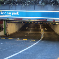 lighting control for civic car park