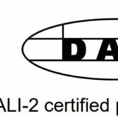 DALI compliant DALI-2 logo