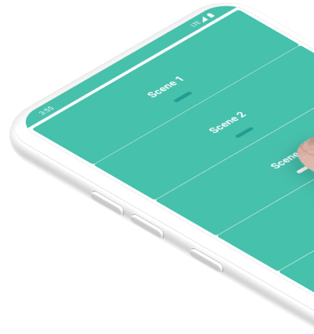 Touch app Mockup phone angle 443x470 - IoT and Home Automation NZ Wide - The Missing Link