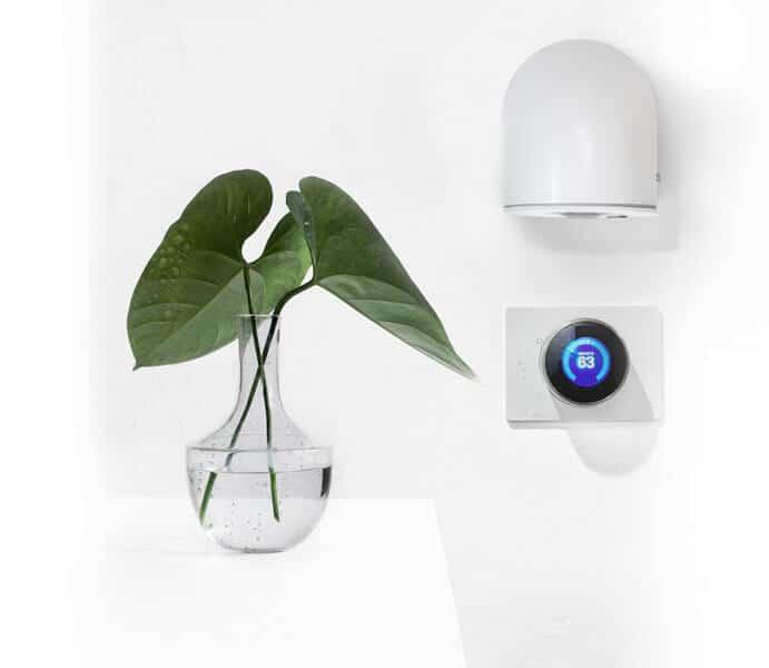 sensor thermostat vase leaf - Smart Sensors