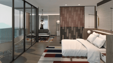smart hotel technology in guest rooms